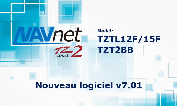 Nouveau Logiciel v7.01
