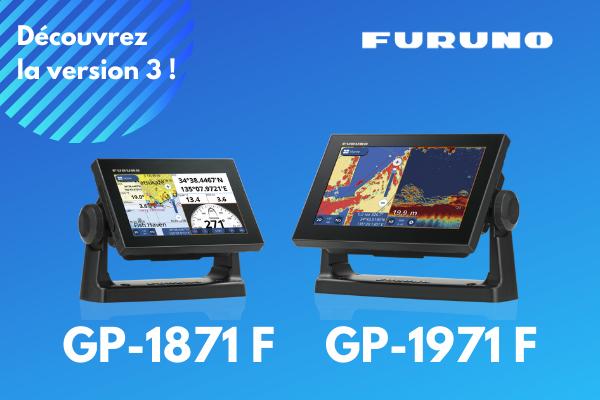 Découvrez la version 3 des combinés GPS-Sondeur GP1X71F